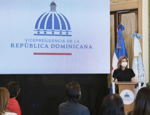 Vicepresidenta Raquel Peña dice Gobierno trabaja para reducir unión temprana y embarazo en adolescentes