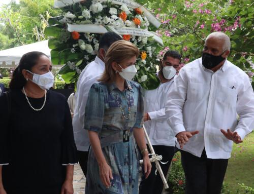 Vicepresidenta rinde homenaje a hermanas Mirabal en 60 aniversarios de su asesinato