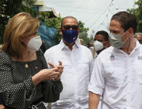 Vicepresidenta supervisa trabajos en pro de la mejora integral de Santiago