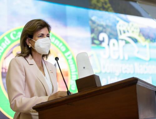 Vicepresidenta exhorta al uso racionado de las fuentes hidrográficas y protección de los bosques